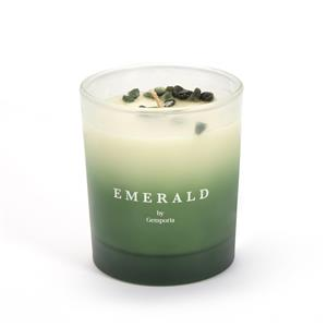 Ombre Birthstone Range - May Emerald Candle, Vanilla Lime Fragrance ATGW 6cts