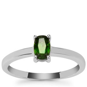 Chrome Diopside Ring in Sterling Silver 0.59ct