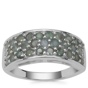 Alexandrite Ring in Sterling Silver 1.50cts