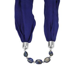 Lapis Lazuli  Beaded Scarf/Necklace ATGW 155cts