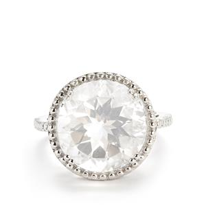 Itinga Petalite Ring in Sterling Silver 9.11cts