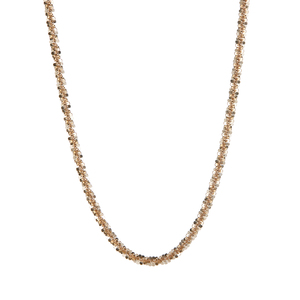 "30"" 9K Gold Couture Criss Cross Chain 5.25g"
