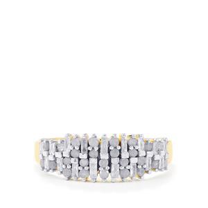 Diamond Ring in 9K Gold 0.52ct