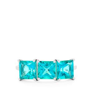 Batalha Topaz Ring  in Sterling Silver 4.17cts