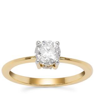 Diamond Ring in 18K Gold 0.86ct
