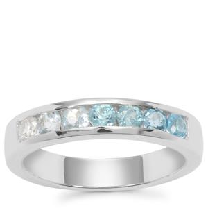 Kaleidoscope Gemstones Ring in Sterling Silver 1.15cts