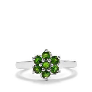 Chrome Diopside Ring in Sterling Silver 0.91cts