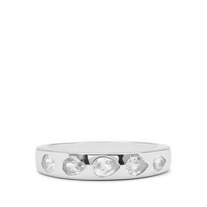 1.10ct Ratanakiri Zircon Sterling Silver Ring