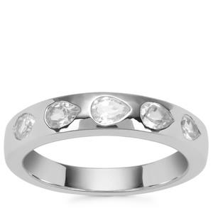 Ratanakiri Zircon Ring in Sterling Silver 1.10ct