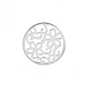 Flower Sterling Silver Disc 3.85g