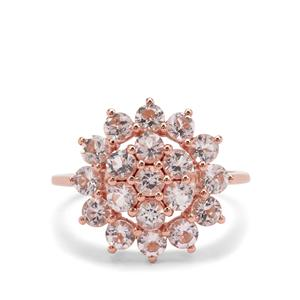 1.79ct Cherry Blossom™ Morganite 9K Rose Gold Ring