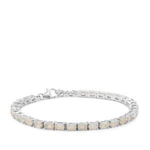 4.56ct Ethiopian Opal Sterling Silver Bracelet