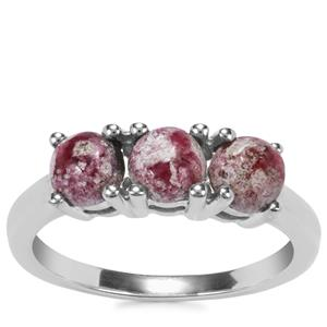 Bixbite Ring in Sterling Silver 1.44cts