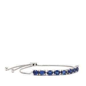 Daha Kyanite Slider Bracelet in Sterling Silver 5.76cts