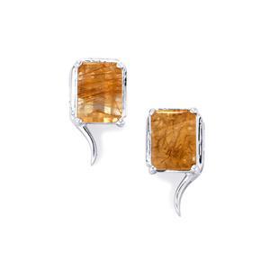 Bahia Rutilite Earrings  in Sterling Silver 3cts