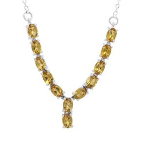 4.83ct Scapolite Sterling Silver Necklace