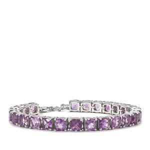 22.05ct Moroccan Amethyst Sterling Silver Bracelet
