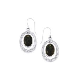 14ct Picasso Jasper Sterling Silver Aryonna Earrings