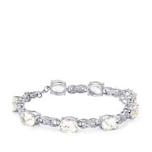 17.50ct Itinga Petalite Sterling Silver Bracelet