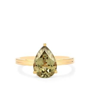 Csarite® Ring with in 18K Gold 2.90cts