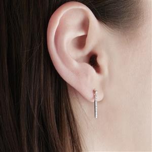 Diamond Earrings  in 9K White Gold 0.13ct
