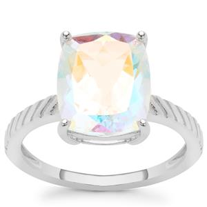 Mercury Mystic Topaz Ring in Sterling Silver 4.95cts