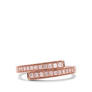 1/4ct Pink Diamond 18K Rose Gold Tomas Rae Ring