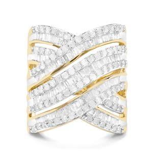 2ct Diamond 9K Gold Tomas Rae Ring