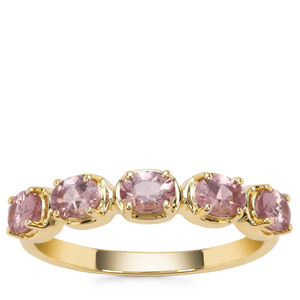 Mahenge Purple Spinel Ring in 9K Gold 0.97ct