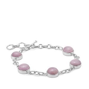 Nuristan Kunzite Bracelet in Sterling Silver 23.50cts