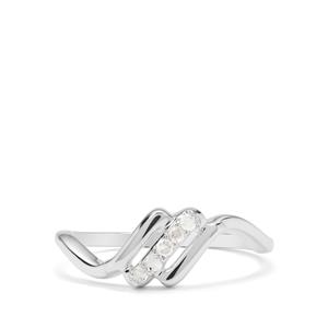Rose De France Amethyst Ring in Sterling Silver 4.26cts
