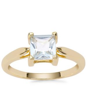 Espirito Santo Aquamarine Ring in 9K Gold 0.86ct