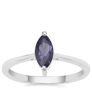 Bengal Iolite Ring in Sterling Silver 0.43ct