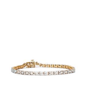 Diamond Bracelet in 18K Gold 3.25cts
