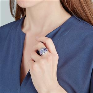 Rio Grande Lavender Quartz Ring in Sterling Silver 3.27cts