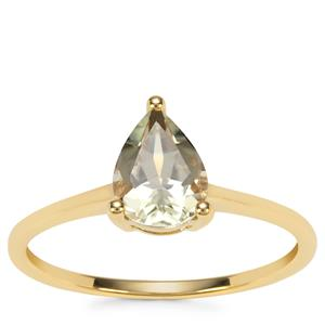 Csarite® Ring in 9K Gold 1.14cts