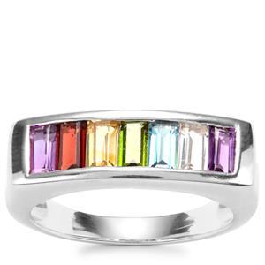 Kaleidoscope Gemstones Sterling Silver 1.57cts