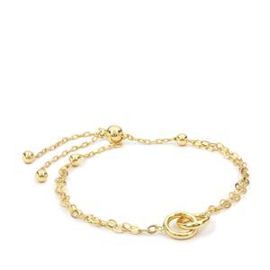 "10"" Midas Altro Rolo Slider Bracelet 3.55g"