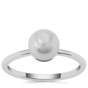 Kaori Cultured Pearl Ring in Sterling Silver (7mm)