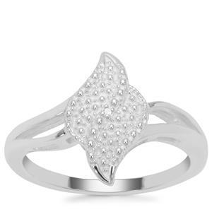 Diamond Ring Sterling Silver