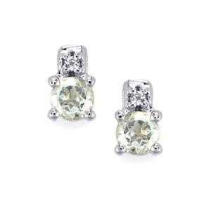 Topaz Earrings in Sterling Silver 0.64ct