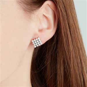 Diamond Earrings in 10k Gold 1.50ct