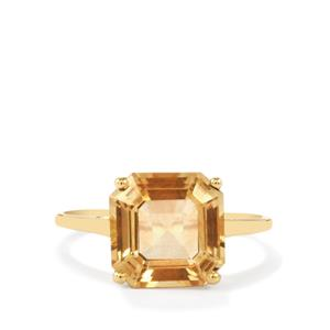 Red Flash Serenite Ring in 10k Gold 4.08cts