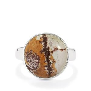 6.96ct Sonora Dendrite Sterling Silver Ring