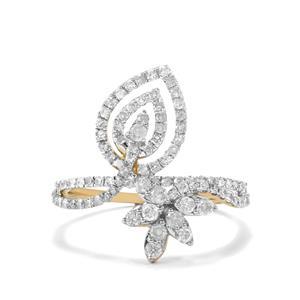 Diamond Ring in 10K Gold 0.80ct