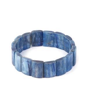 210cts Elasticated Kyanite Bracelet