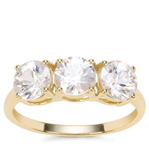 Singida Tanzanian Zircon Ring in 9K Gold 2.98cts