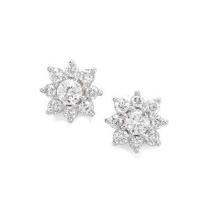Diamond Earrings in 18K Gold 0.34ct
