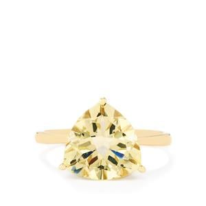 Serenite Ring  in 10k Gold 3.86cts
