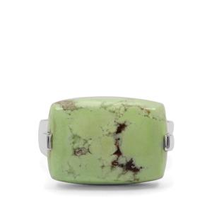 13ct Queensland Chrysoprase Sterling Silver Ring